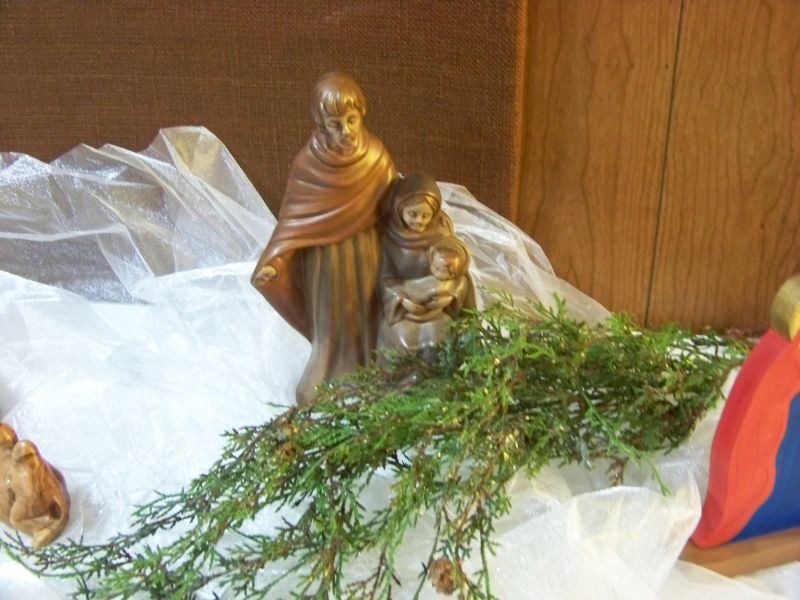 Nativity Display 2013